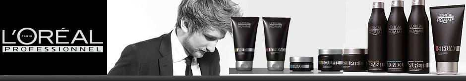 Gammes de produits Hommes L'Oréal Professionnel Paris
